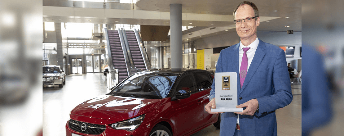 Neuer Opel Corsa gewinnt Connected Car Award